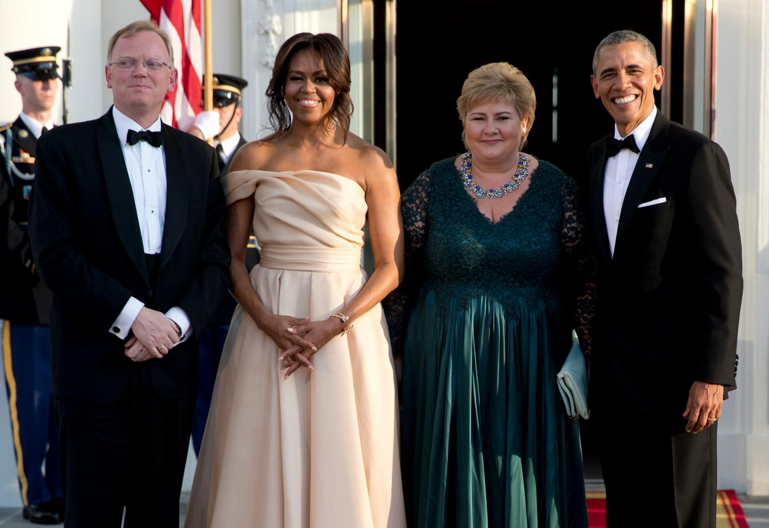 Obamas Welcome Leaders Celebrities To Nordic State Dinner