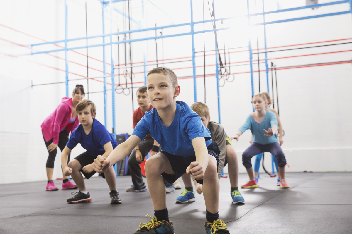 A Weight Training Workout for Kids