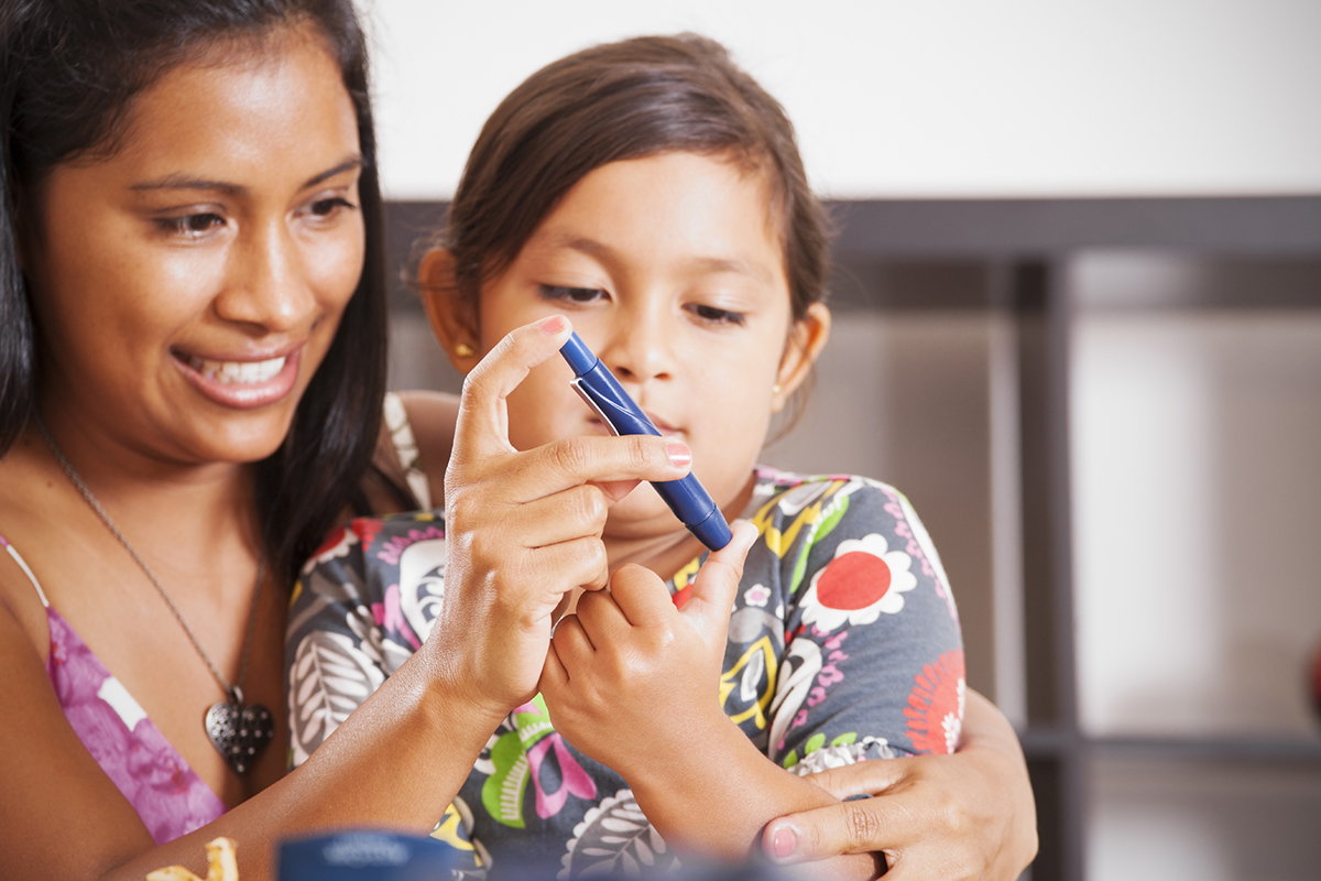 Teach Your Child How to Test Blood Glucose Levels