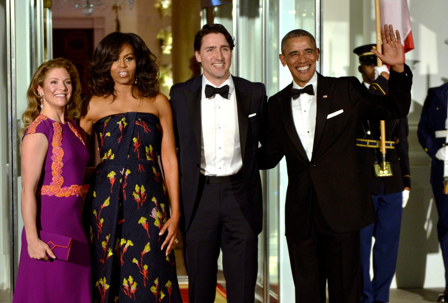 Used Cars In House Financing >> Photos: Guests at the White House State Dinner for Justin Trudeau | US News