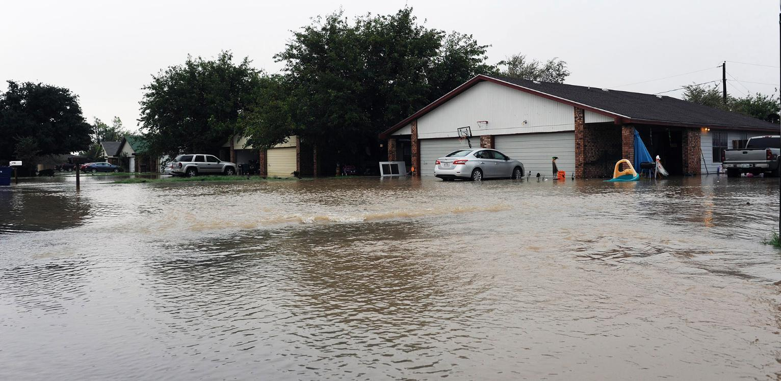 Heavy Rain In West Texas Floats Some Travel Trailers Away