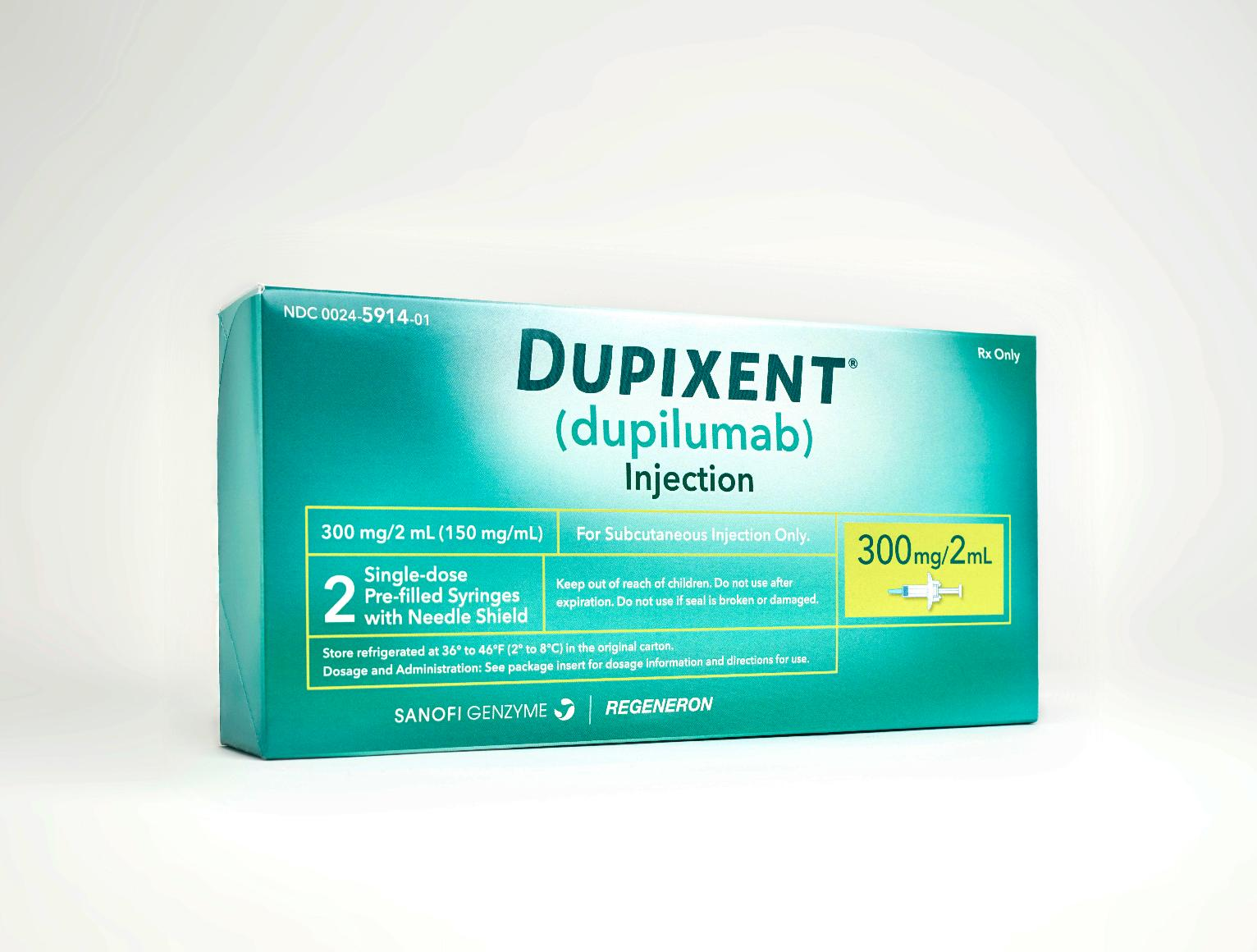 Food and Drug Administration Approves Dupixent, First Drug