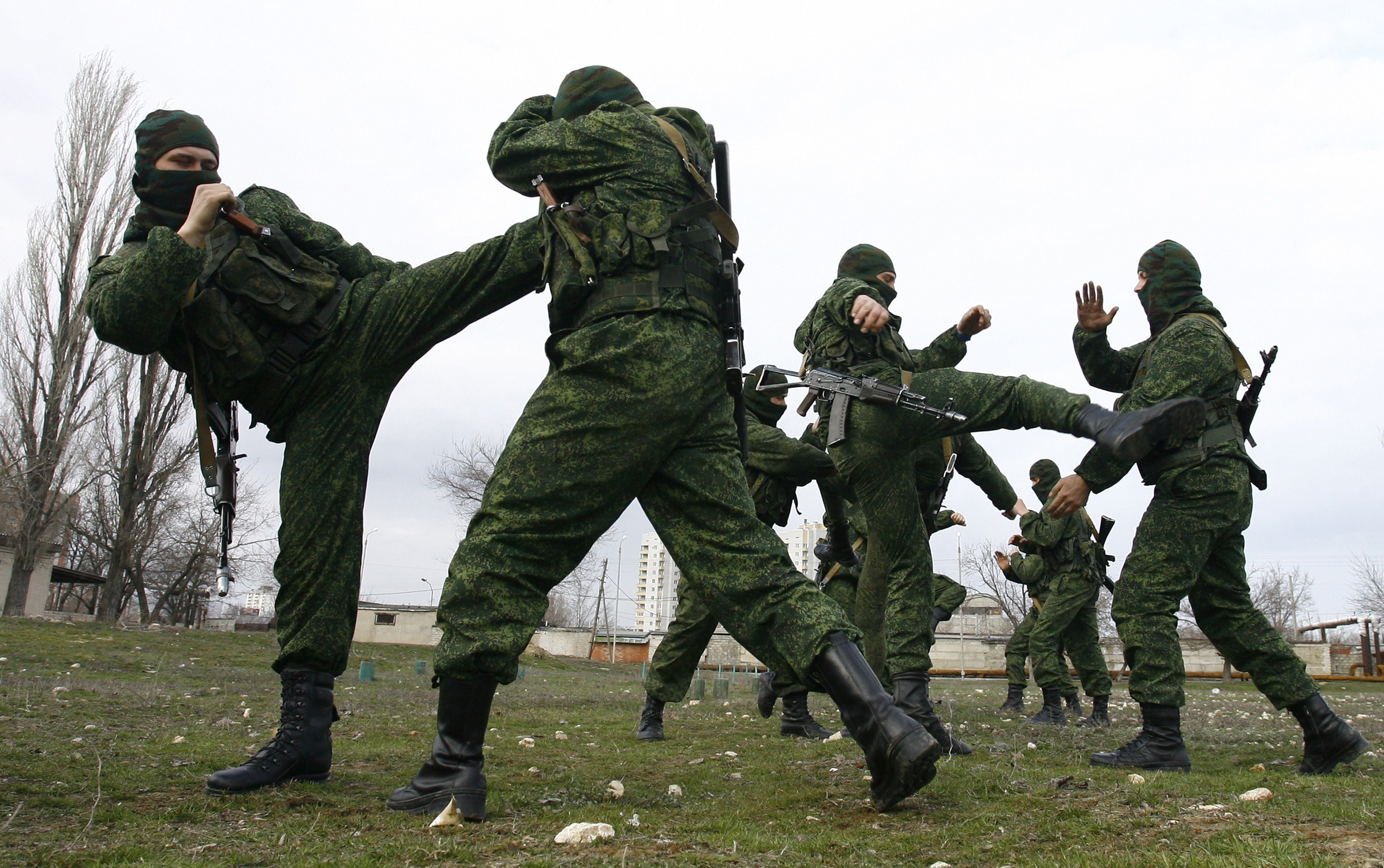 Reported Russian Military Video Tells Recruits Pain
