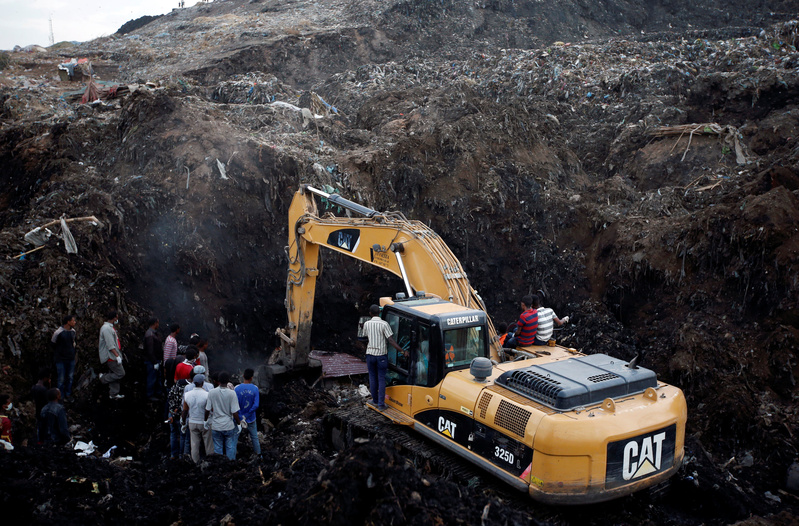 Buried in Ethiopian Dump Landslide: a Young Man and His Dream