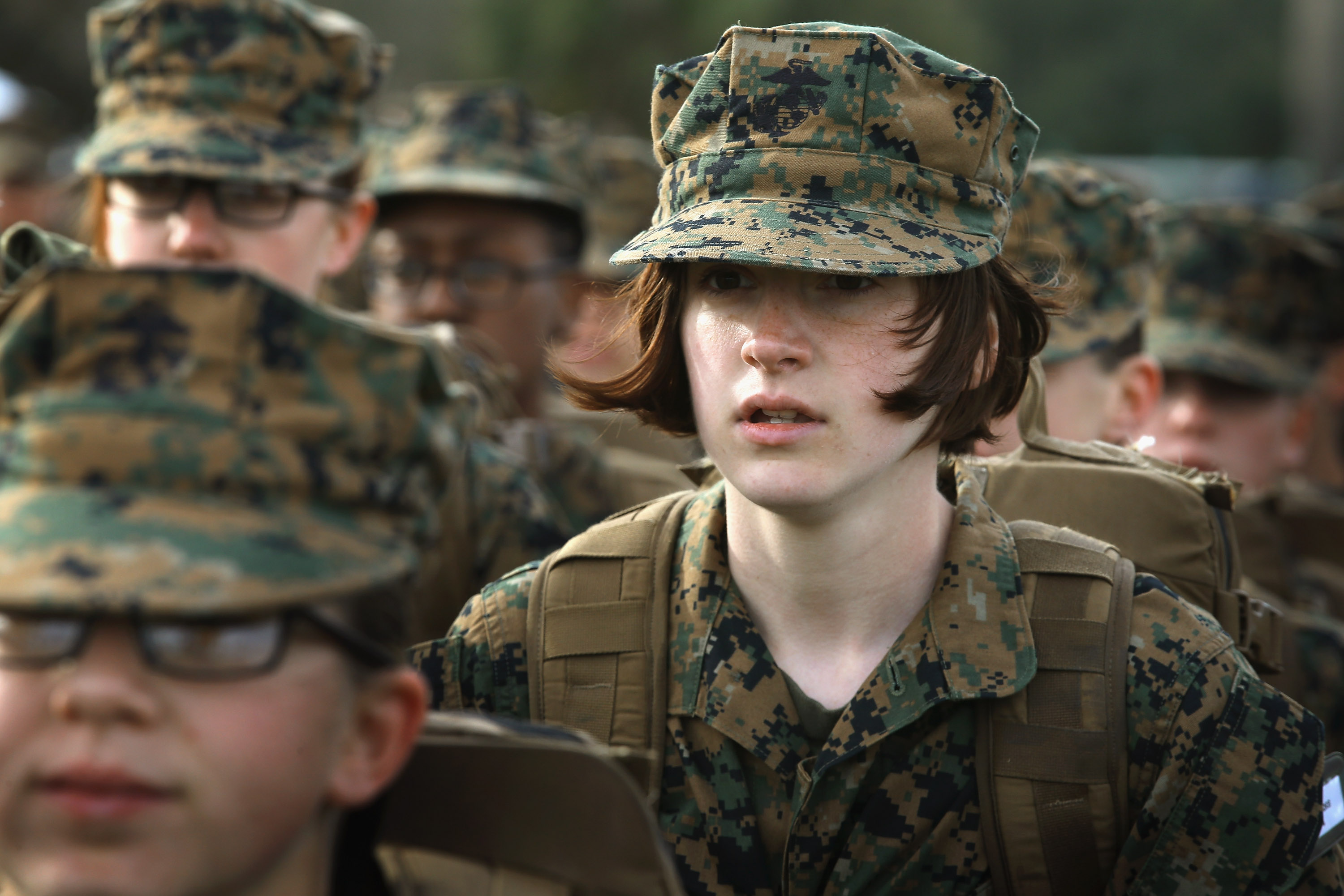 Female Marine Infantry Recruits at No Disadvantage ...