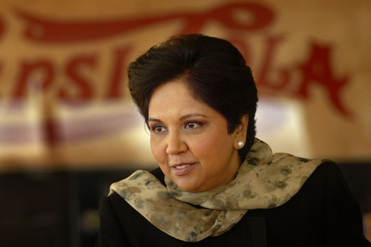 americas best leaders indra nooyi pepsico Nooyi is a master of substance, knowing pepsico's product lines and financial metrics in depth but former ceo reinemund, now the dean of business schools at wake forest university, has also noted that she is a deeply caring person who can relate to people from the boardroom to the front line.